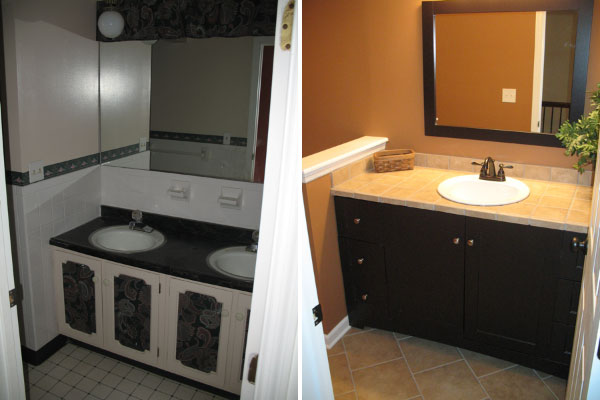 Bathroom remodeling photos innovative renovations for Bathroom remodeling dayton ohio