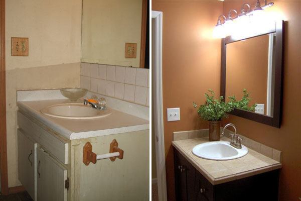Innovative renovations miami valley remodeling for Small space bathroom renovations